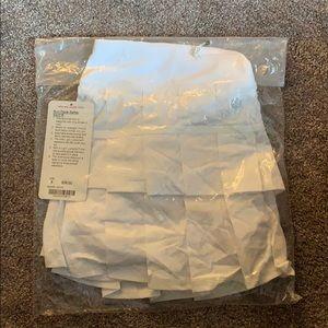 New run pace setter Lululemon skirt size 8 white